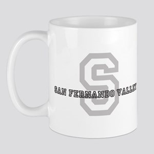 San Fernando Valley (Big Lett Mug